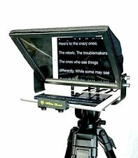 TMP100 Glide Gear Video Tablet Smartphone Camera Teleprompter 70/30 Glass