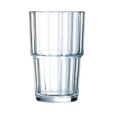 Arcoroc 61697 Norvege Wasserglas Saftglas stapelbar 250ml Glas 6 St