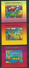 United Nations/NY SC # 708a,Geneva 306, Vienna 222 Earth Summit + 5 ,SS. MNH