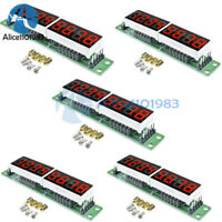5PCS MAX7219 CWG 8-Digit Digital Tube Display Control Module Red for arduino