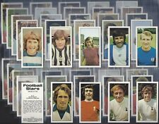 BASSETT-FULL SET- FOOTBALL STARS (1974 VERSION 50 CARDS) - EXC+++