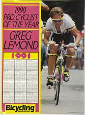 Greg Lemond 1990 Pro Cyclist of the Year