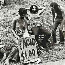 Life at Woodstock 1969 Blotter Look 5x5