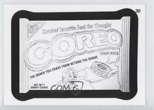 2013 Topps Wacky Packages All-New Series 11 Coloring Cards #30 Goreo Card 0j6
