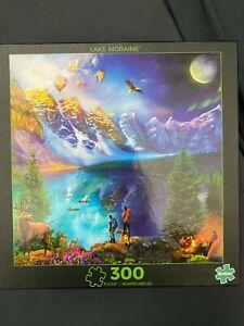 Buffalo Games - Lake Moraine Journey - 300 Large Piece Jigsaw Puzzle