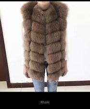 Beautiful real fox fur gilet