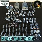 SPACE WOLF ARMY - Partially Painted Warhammer 40K CR3
