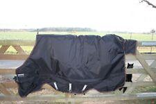 Horseware Rhambo XL Turnout heavy 400 gr. 140 cm schwarz/braun Weidedecke