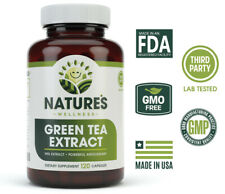 EGCG Green Tea Extract Capsules - Metabolism Booster for Weight Loss & Energy