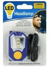 LED Headlamp Flashlight Head Light Headband Duel-Mode Lighting