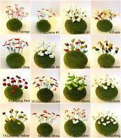 Select Miniature Dollhouse Fairy Garden Accessories Terrarium Landscape Decor