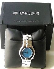 TAG HEUER ALTER EGO VP131I WOMAN WATCH, MOTHER-PEARL BLUE DIAL, WR, ST ST, BOX