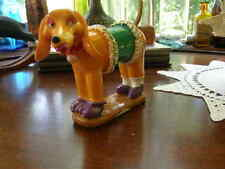 2713) Polystone Dachshundes Brite Dress Up Dog Wire Spring Tail No 872996