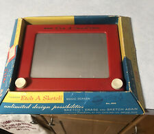 Original Etch A Sketch Near Mint In Box With Instructions Ohio Art