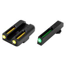 TruGlo TFO Glock 42/43 Set RS Handgun Sight-Yellow TG131GT1B