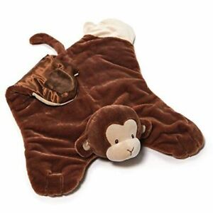 GUND Baby Nicky Noodle Monkey Comfy Cozy Baby Security Blanket