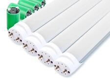 Super stromsparende 120cm LED Röhren im 4er Set, ideal für Büro, Lager und mehr