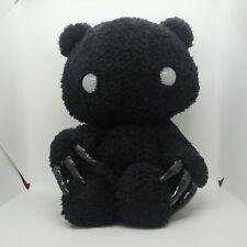 Gloomy Bear Chax Big Plush Doll Stuffed GP type Abstraction Black 40cm 20th TAG