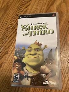 Shrek the Third 3rd - Sony Playstation Portable PSP 2007