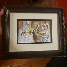 Brother Cletus Behlmann SAN PASCUAL BAILON PRINT PATRON SAINT COOKS Framed 5 X 7