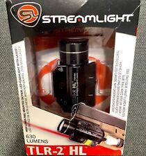 New listing Streamlight Tlr-2 Hl 630 Lumens White Led/Red Laser w/ Key Kit 692619 Rev. A