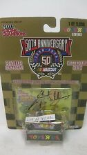 Nascar 50th Anniversary Jerry Nadeau Autographed #9 Ford 1:64 Diecast NEW dc1376