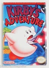 Kirby's Adventure FRIDGE MAGNET (2 x 3 inches) video game box nes