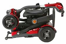 EV Rider TeKNo Auto Folding 4-Wheel Mobility Scooter with Laser Guide Lights