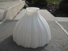 White Milk Glass Lamp Diffuser Shade