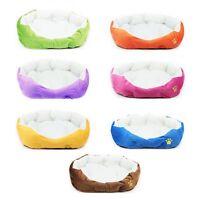 New Super Warm Soft Fleece Puppy Pets Dog Cat Bed House Basket Nest Mat