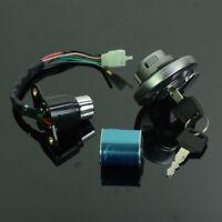 For Honda CMX250 Rebel 250 CA250 Ignition Switch Gas Cap Steering Lock Keys Set