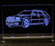 CHRYSLER 300C touring Gravur auf LEUCHTSCHILD LED kombi