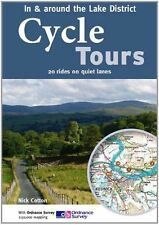 Cycle Tours in & Around the Lake District: 20 Rides on Quiet Lanes, Good Conditi