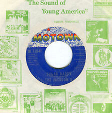 "Jackson 5    ""Sugar Daddy""/""I'm So Happy"" Motown 1194     VG+++++"