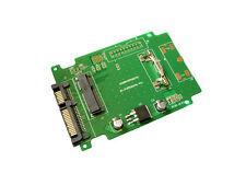 Adaptateur SATA pour SSD mini PCIe mSATA de type INTEL / TOSHIBA / SAMSUNG