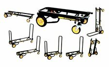 MultiCart Dolly DJ Musical Equipment Hand Truck Luggage Stacker Rools Folds New