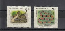 TIMBRE STAMP 2 EL SALVADOR  Y&T#453-54 SERPENT SNAKE NEUF**/MNH-MINT 1980 ~C74