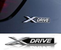 Auto Metall xDRIVE X-DRIVE Aufkleber Emblem Schriftzug Plakette für BMW X NEU