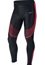 Nike Power Speed Running Trousers Leggings Men's Uk Medium ( 717750 015)