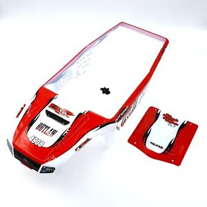 FTX Outlaw 1/10 Ultra-4 Body & Roof Set red Painted Bodyshell Shell and hardware