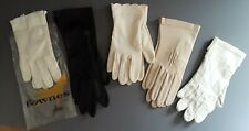 5 Pair Vintage Gloves. Brand new and used.