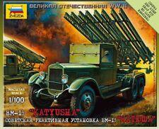 Zvezda 1/100 BM-13 Katyusha # 6128