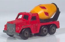 "Matchbox Superfast Lesney Badger Cement Mixer Truck 3"" Die Cast Scale Model"