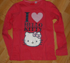 tolles Langarm -  Shirt Gr 134 / 140   Hello Kitty    Langarmshirt Pullover