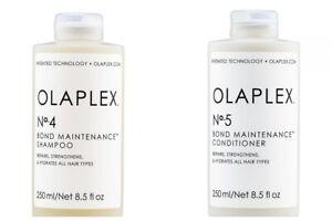 OLAPLEX  No.4 And No.5 Bond Maintenance shampoo And conditioner Set (8.5oz)