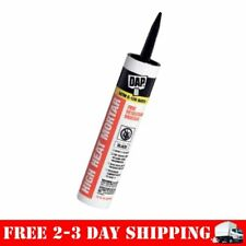 Silicone Adhesive Caulk Patches & Seals Stove Fireplace High Heat Mortar 10 oz
