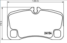 NEW MINTEX BRAKE PAD SET BREAK REAR PORSCHE 911 997 3.6 3.8 2006 - 2012 MDB2937