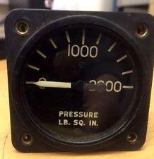 Aircraft Hydraulic pressure gauge 10230-A