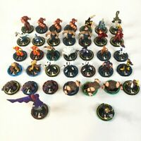 Lot of 30 Marvel HeroClix X-MEN BROTHERHOOD OF MUTANTS WizKids REV MAGNETO BLOB