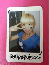 AFTER SCHOOL RAINA VIRGIN Official Photo Card Korea Press Genuine ORANGE CARAMEL